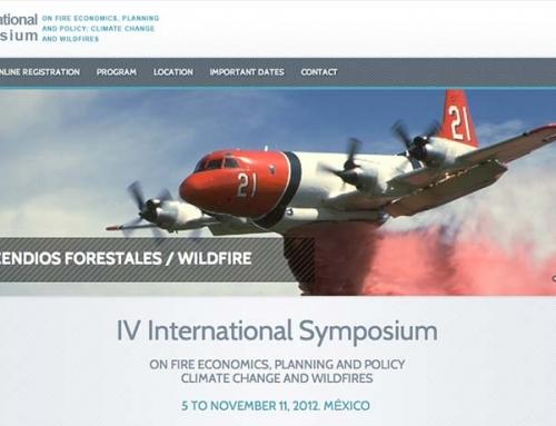 IV Simposio Internacional sobre Políticas, Planificación y Economía de los Incendios Forestales