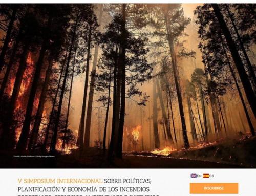 V Simposio Internacional sobre Políticas, Planificación y Economía de los Incendios Forestales